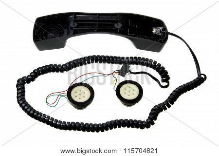 Broken Telephone Handset