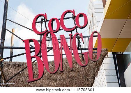 Coco Bongo Club Entrance At Zona Hotelera