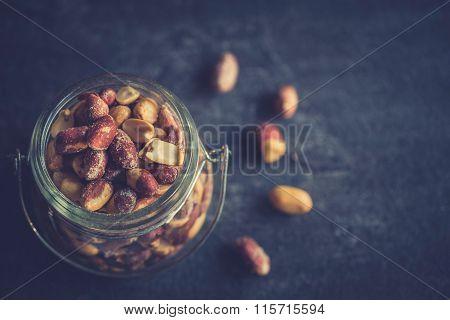 Peanuts In The Jar