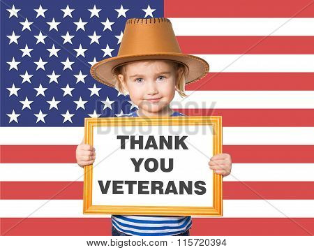 Text Thank You Veterans.