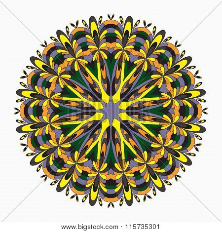 Mandalas Collection. Vintage Decorative Elements