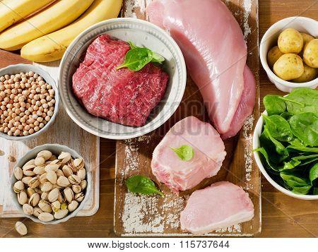 Foods Highest In Vitamin B6.