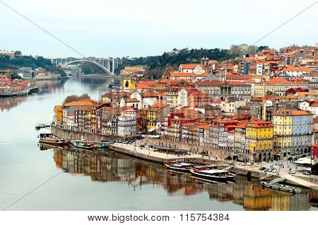 Oporto City Landscape, Portugal