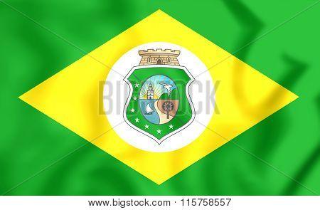 Flag Of Ceara, Brazil.