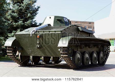 Soviet Light Tank T-60. Volgograd Russia