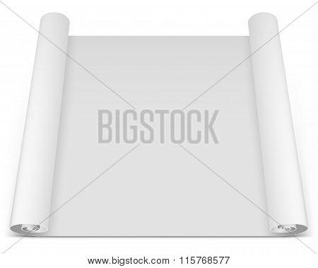Blank Roll Paper