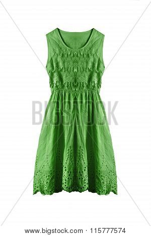 Lacy Dress Isolated