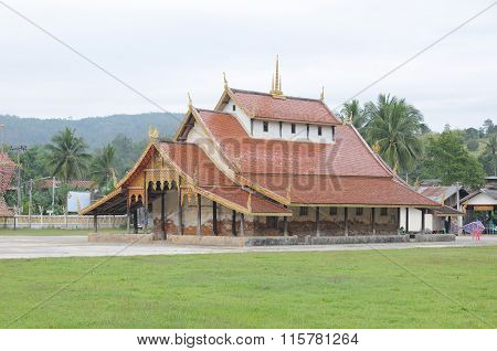 Temple building in north of Thailand