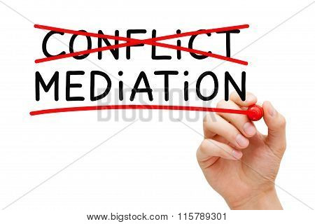 Conflict Mediation Concept