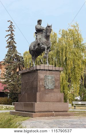 Governor Zasyekin Do. Volgograd, Russia