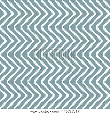 Seamless Knitted Pattern Of Stair Step Vertical Zigzag