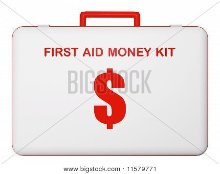 First Aid Money (dollar) Kit.
