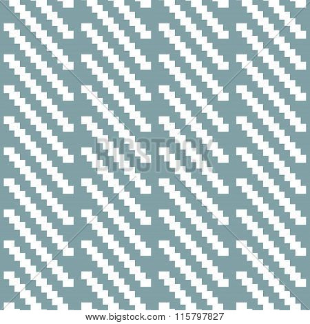 Seamless Pattern Of Stair Step Diagonal Segments