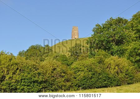 St. Michael's tower atop the Glastonbury Tor