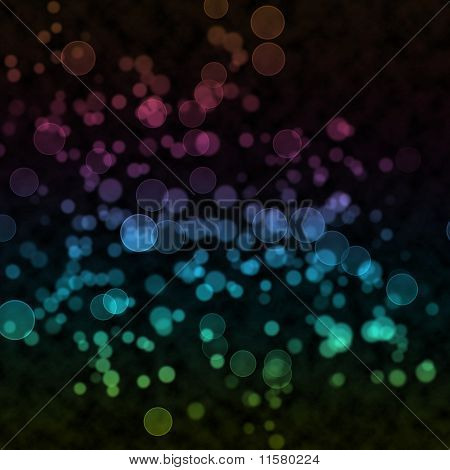 Awesome Colorful Bubble Effect