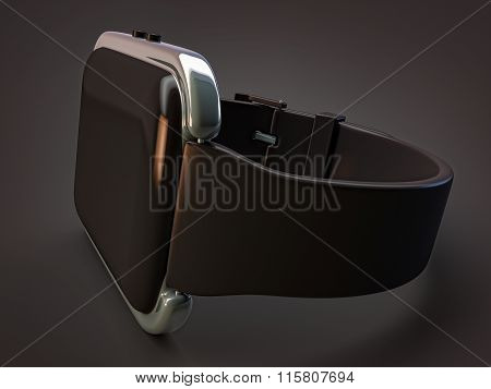 Wearables Smart Watches Isolated