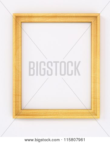 Empty Cadre Blank Vertical Portrait Frame