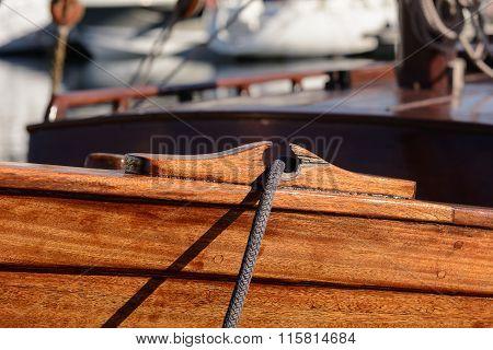 Passing Through The Anchor.