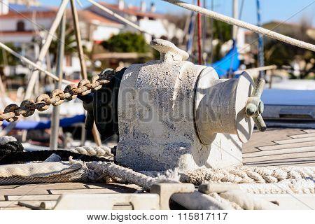 Anchor Windlass Yacht