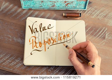 Handwritten Text Value Proposition