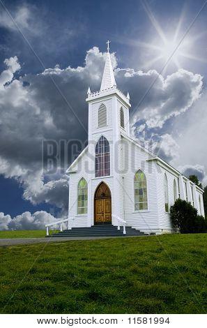Church & Clouds
