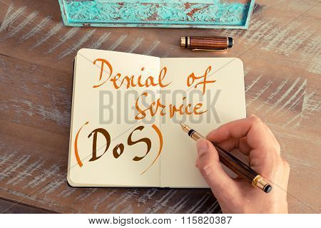 Business Acronym Dos Denial Of Service