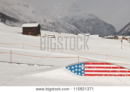 Snowboard Slopestyle Area - American Style