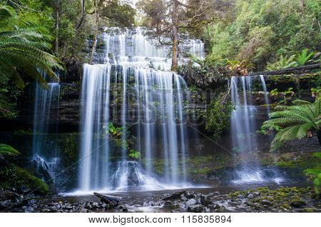 Russell Falls in Mount Field National Park, Tasmania