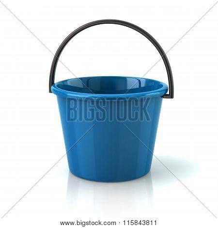 Illustration Of Blue Bucket