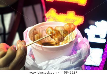 Hong Kong Rice Noodles Street Food