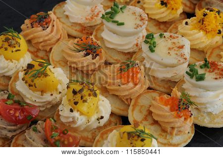 Close Up Of An Assortment Of Petits Fours