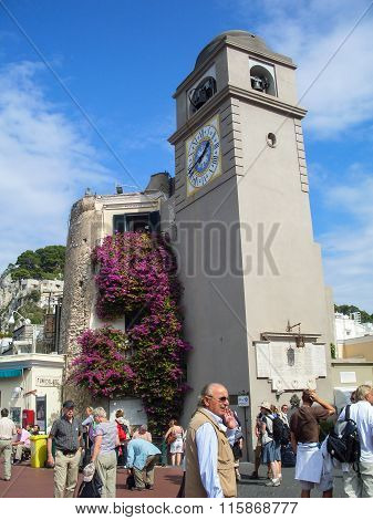 Capri Clocktower