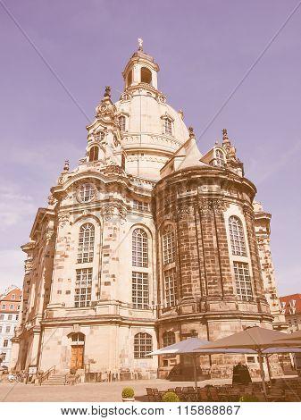 Frauenkirche Dresden Vintage