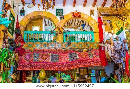 The Colorful Interior