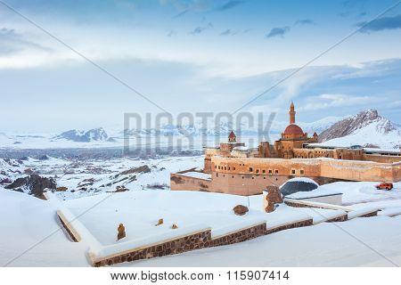 Historical Ishak Pasha Palace Dogubeyazit Turkey