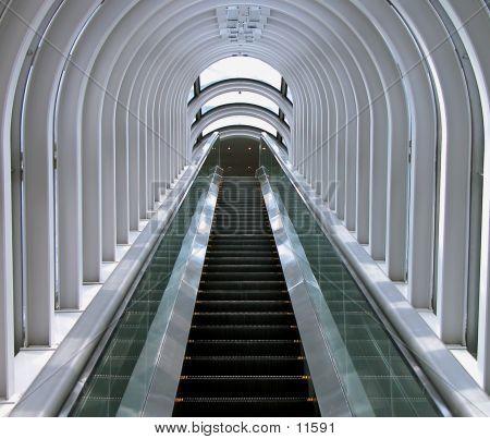 Futuristic Moving Staircase