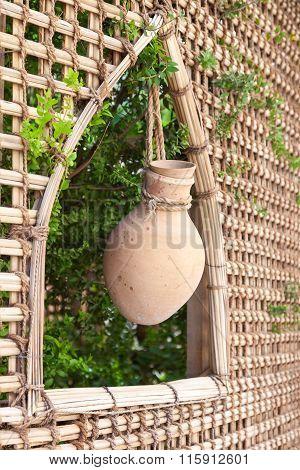 Terracotta Pot In Nizwa, Oman