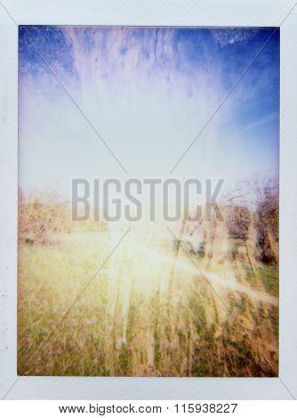 Abstract Landscape Blur
