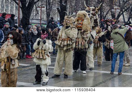 Part of  international  festival of the folk masquerade.