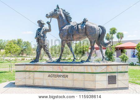 Bronze Statue Of An Agterryer