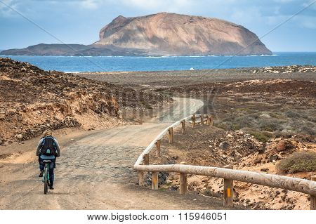 La Graciosa - On The Way To Las Conchas Beach