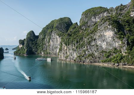Scenic Hillscape in Vietnam