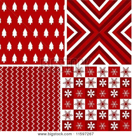 red seamless patterns,christmas texture