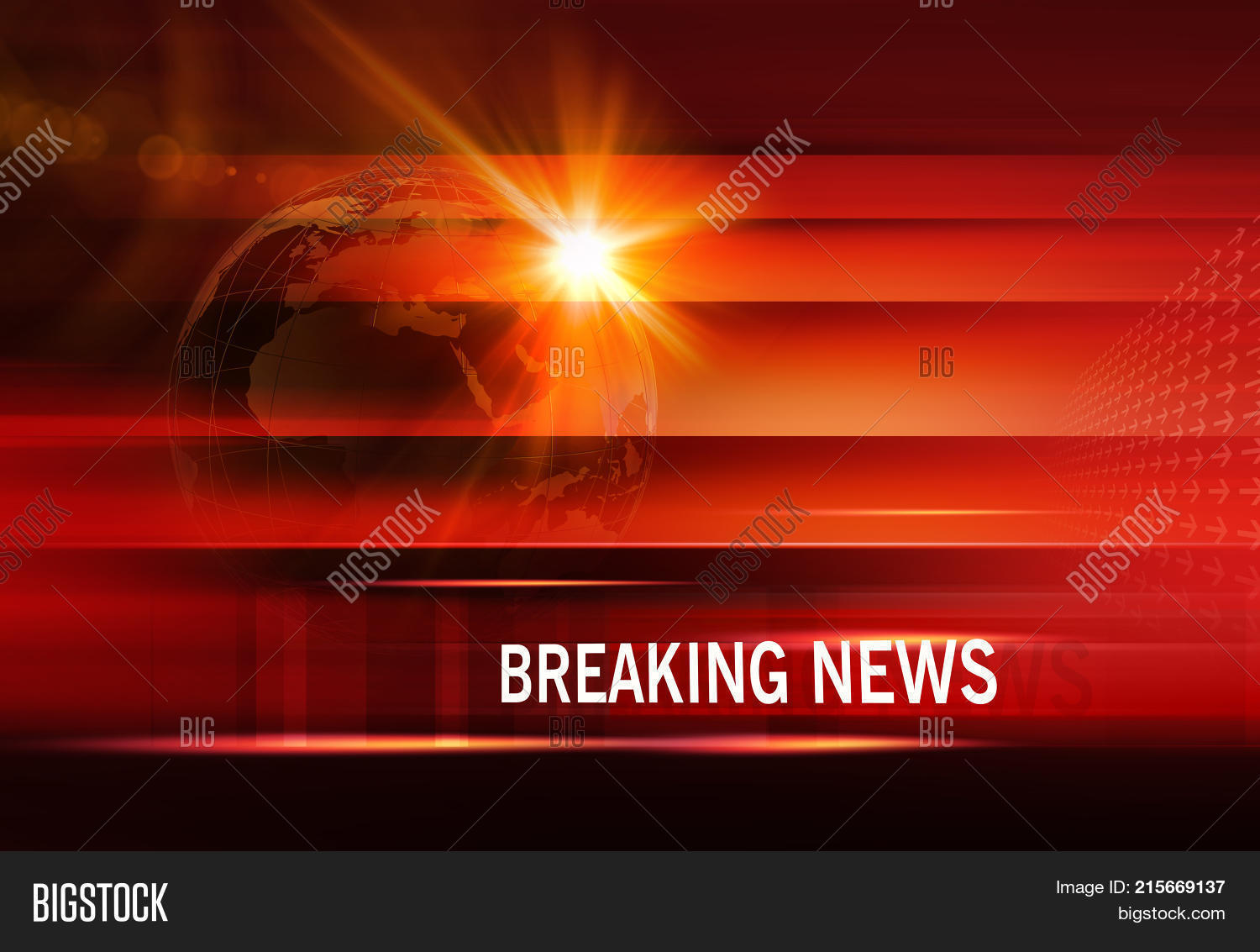 Graphical Breaking Image Photo Free Trial Bigstock