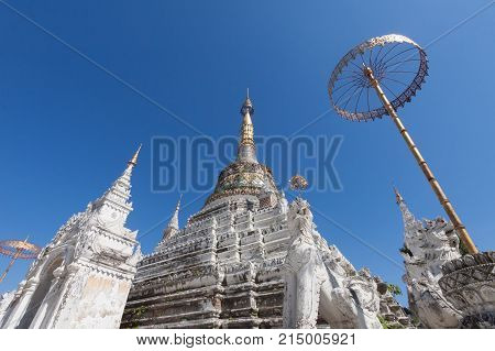 Saen Fang temple in Chiang Mai Thailand