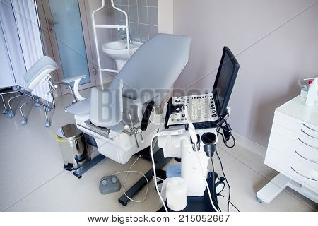 An image of different hospital rooms and premises