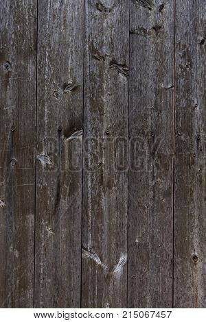 wooden wall of wooden slats as background