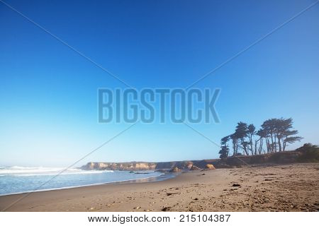 Pacific Coast in California, USA