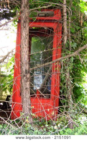 Abandoned Phone Box