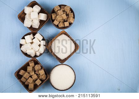 Six Bowls Of Sugar